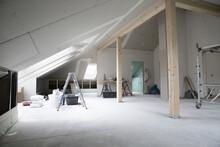 Interior Of Renovating House