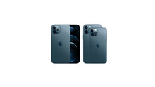 Special Apple Event On October 13. Apple IPhone Event. Comparison Of Last IPhones. IPhone 12 Pro And 12 Pro Max. Current Line Of IPhones 2020. Pacific Blue Phone.  3d Render