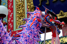 中華街の春節パレード...