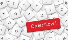 Order Now In White Keyboard Ke...