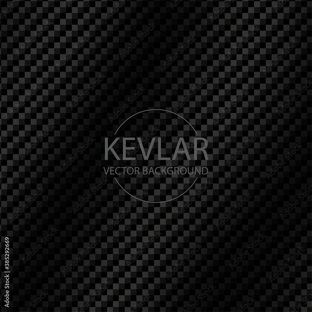 Fototapeta Texture of carbon kevlar fiber material for background vector
