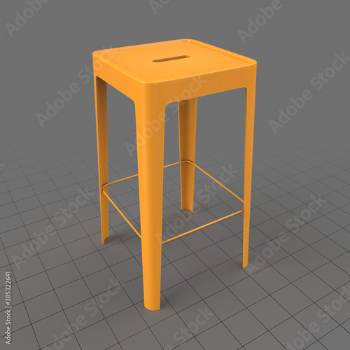 Obraz Industrial stool - fototapety do salonu