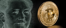 Digital Currency With Gold Sta...