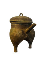 Wine Vessel With Animal Face D...