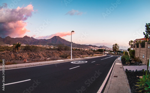 Fototapety, obrazy: road in the desert