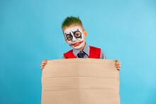 Orizontal Shot Of Funny Boy, A...
