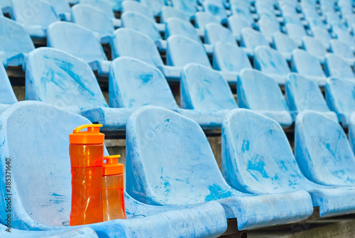 Fotografie, Obraz Lots of empty seats in the stadium