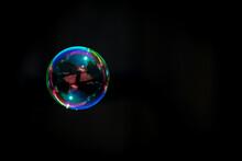 Floating Soap Bubble