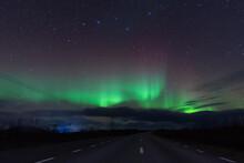 Aurora Borealis Nordlicht In L...