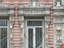 Window Richly Decorated By The...