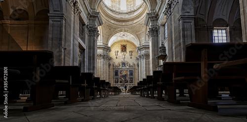 Fototapeta Convent church of the Agustinas Recoletas