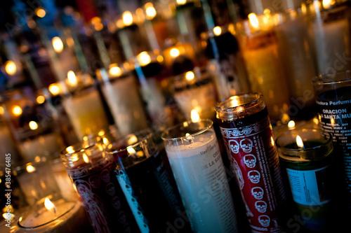 Fotografie, Obraz Santa Muerte (Holy Death) religious cult in Mexico.