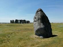 The Heel Stone And The Stonehenge