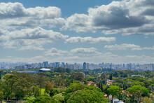 Skyline De São Paulo, Com Bai...
