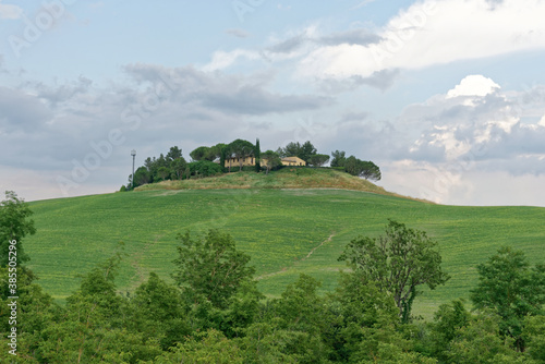 Naklejka premium Italien - Toskana - Provinz Siena