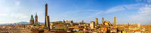 Famous Old Town Of Bologna In ...