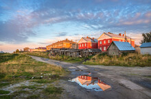 Wooden Houses Of The Village O...