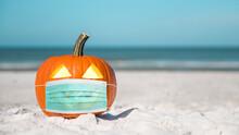 Halloween Party On The Beach. ...
