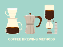 Coffee Brewing Methods, Syphon...