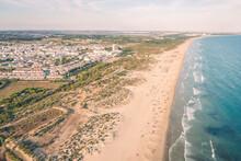 Cabanas Beach In The Algarve D...