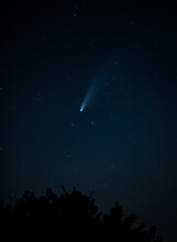 Comet Neowise Tracking Across ...