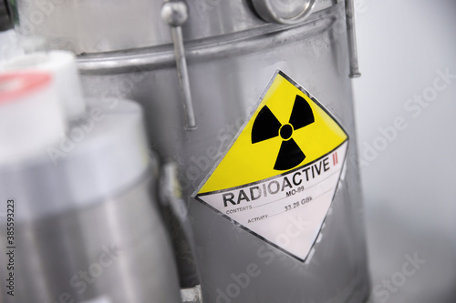 parent isotope of technetium Tc-99m, radionuclide used in nuclear medicine