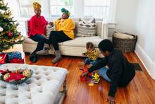 Multigenerational Black Family...
