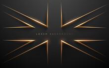 Gold British Flag Style Background