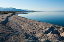 Desolate Landscape Around The Salton Sea, Coachella Valley, California.