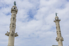 Monument Aux Girondins With Tw...