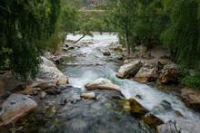 Powerful Stream Of Mountain Ri...