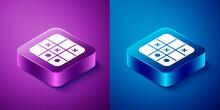 Isometric Tic Tac Toe Game Ico...