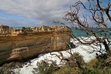 View Of Razorback Coast In Port Campbell National Park. Australia.