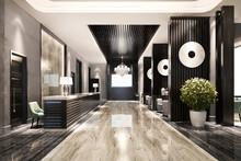 3d Rendering Modern Luxury Hot...