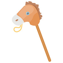 Icon Of A Hobby Horse