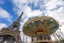 Ferris Wheel On A Sky