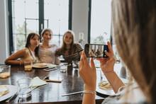 Group Of Teenage Girls Meeting...