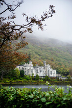 View Of Kylemore Abbey In County Galway