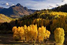 Scenic View Of Mount Sneffels ...