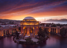 View Of Palace Of Fine Arts Wi...