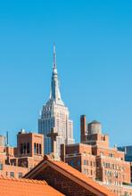 Scenic View Of Empire State Bu...