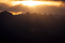 Scenic View Of Sunlight Over S...