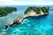 Aerial View Of Nusa Penida Isl...
