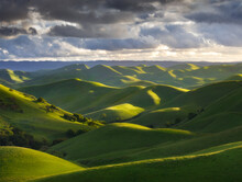View Of Endless Rolling Hills ...