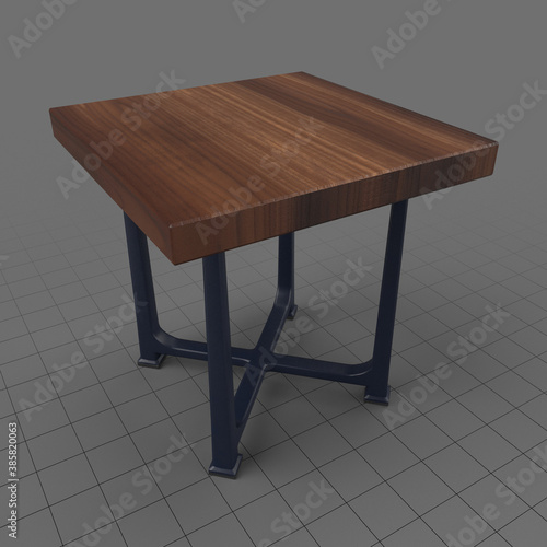 Obraz Oak table - fototapety do salonu