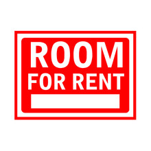Room For Rent Signboard