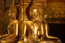 Four Buddha Statue At Wat Phum...