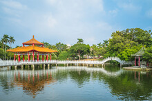 Nianci Pavilion Of Tainan Park...
