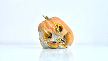 Rotten Moldy Halloween Pumpkin...