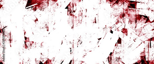 Foto Abstract Background - White and Dark Red